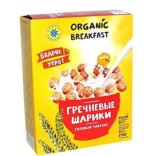 """Сухой завтрак """"Гречневые шарики"""", 100 г"""