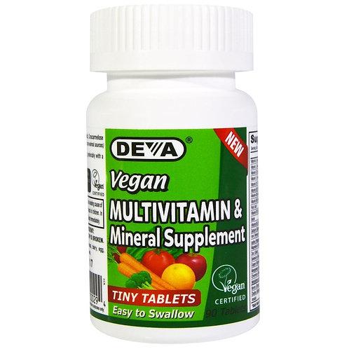 Мультивитамины и минералы Deva, 90 шт