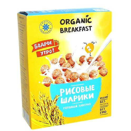 """Сухой завтрак """"Рисовые шарики"""", 100 г"""