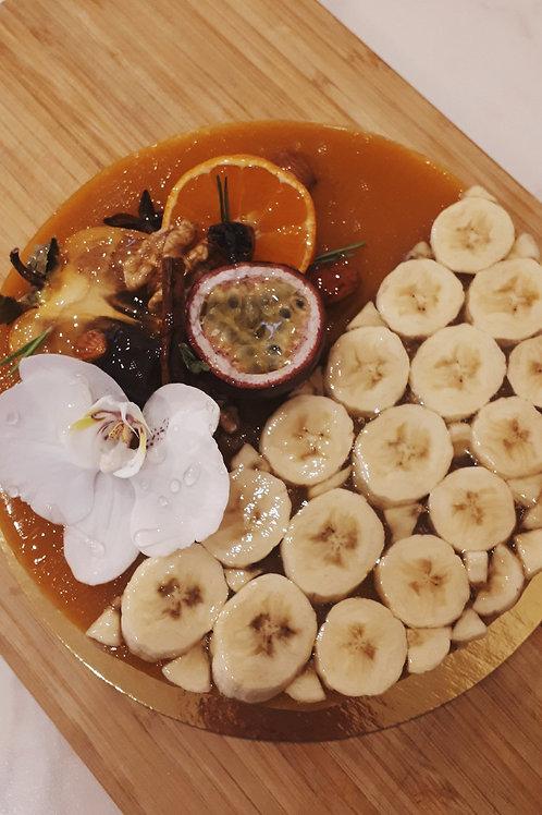 Веганский банановый чизкейк, 1.2 кг