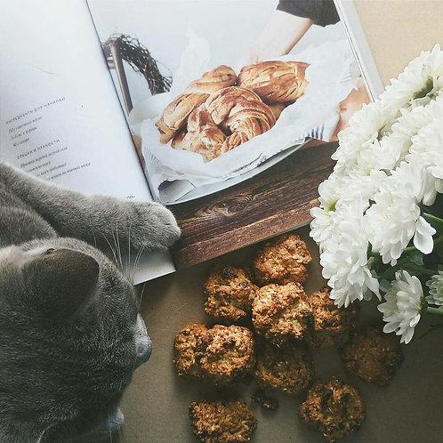 Домашнее овсяное печенье, 5 шт