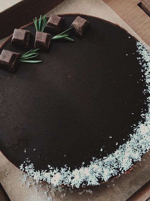 Веганский шоколадный чизкейк, 1.4 кг