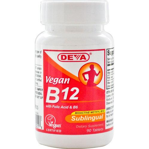 Витамин B12 Deva, 90 шт