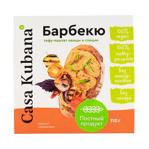 "Тофу-паштет ""Барбекю"" Casa Kubana, 110 г"