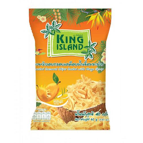 Кокосовые чипсы с манго King Island, 40 г
