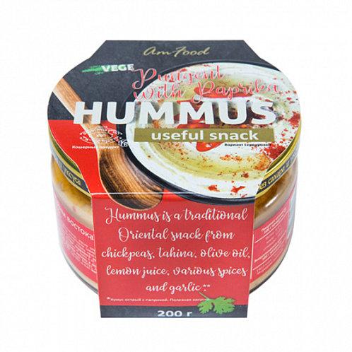 """Хумус """"Острый с паприкой"""", 200 г"""