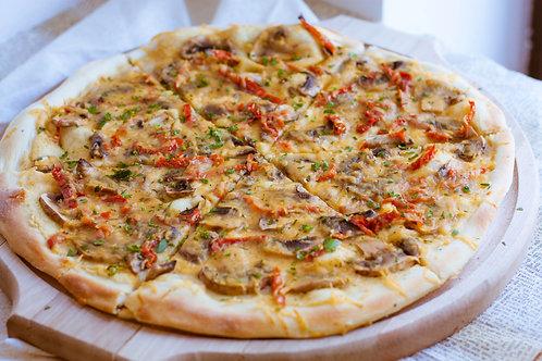 Пицца с грибами, 30 см