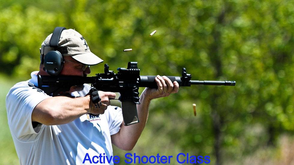 Active Shooter Class