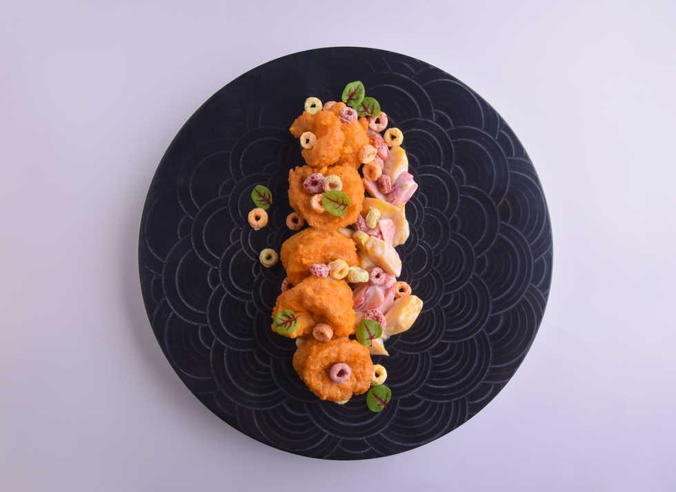 seafood_Golden Cereal Prawns 香脆黃金蝦球 (T).