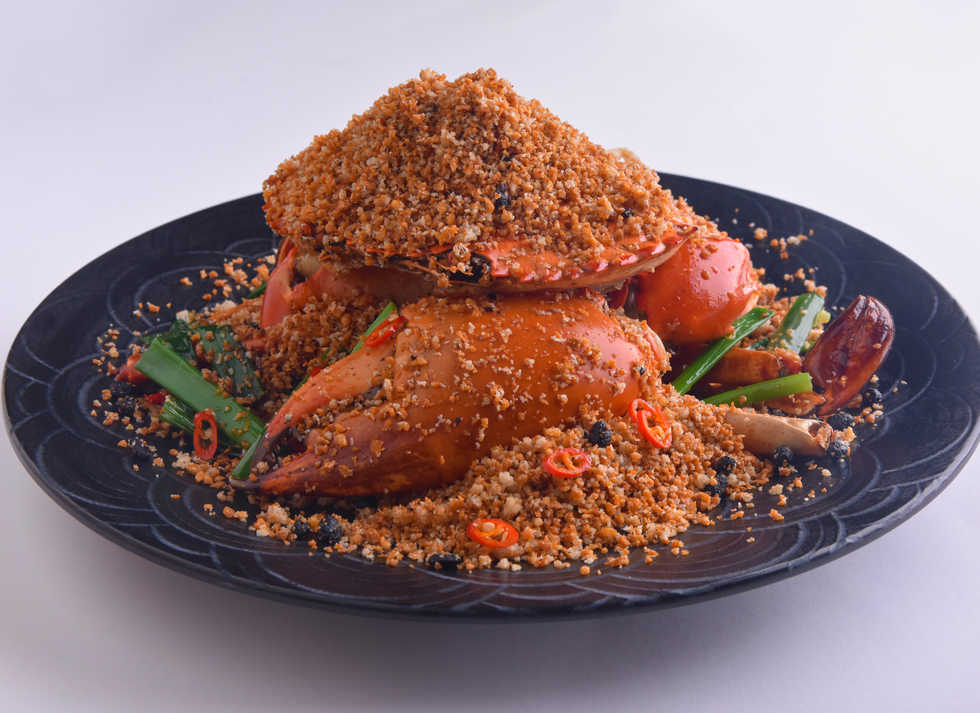 seafood_Fried Crab with Garlic and Chill