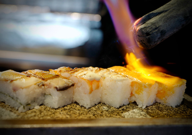 Aburi Nigiri Sushi