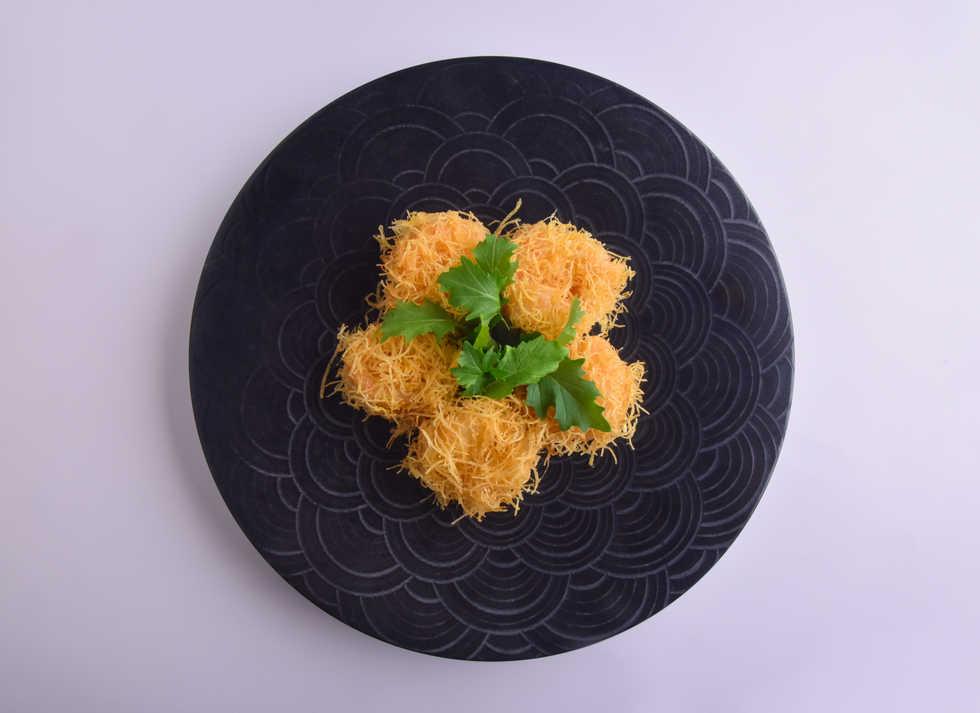 seafood_Deep Fried Prawns with Wasabi Ma