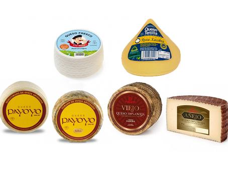 Tipos de quesos según su maduración