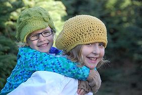 Anna and Abby hats .JPG
