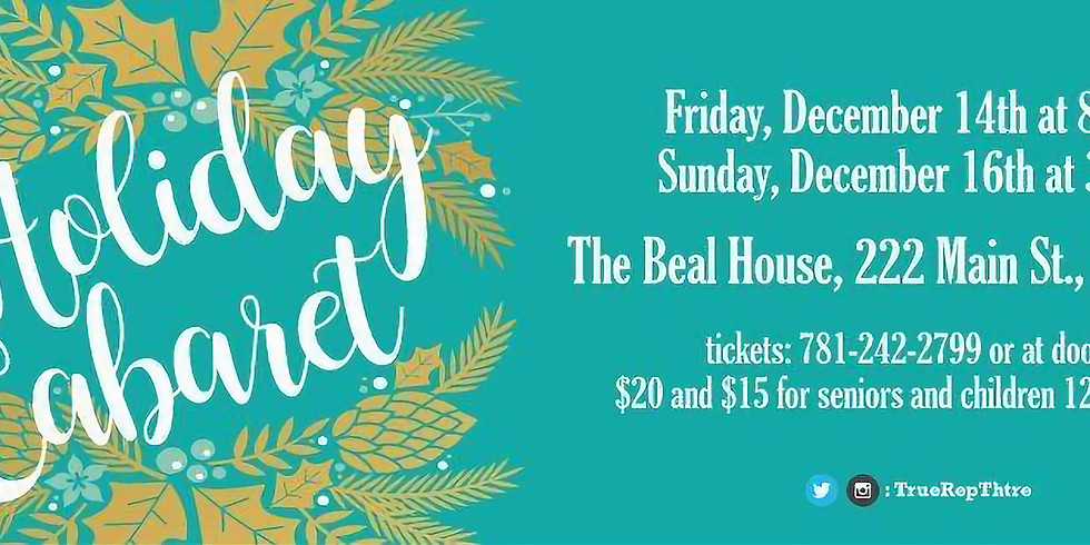Holiday Cabaret - An evening of Holiday song