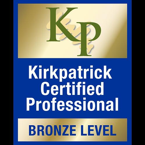 커크패트릭 4단계® 평가  공인 프로그램 - 브론즈 (2021.05.20~21)