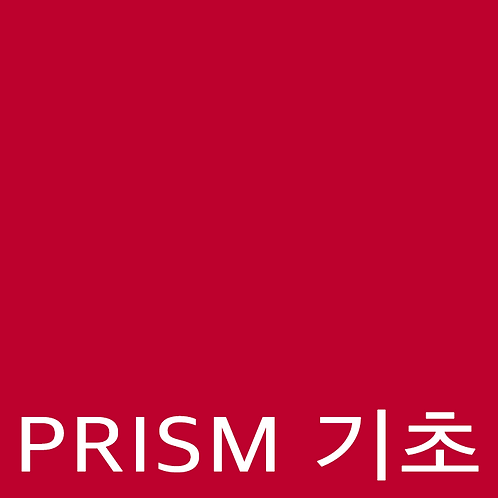 PRISM 초급
