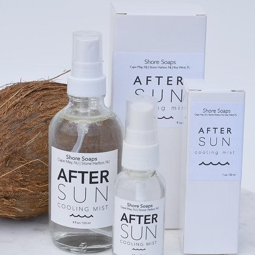 AFTER SUN Aloe Cooling Mist // Balancing Moisturizer // Essential Oils // Pepper