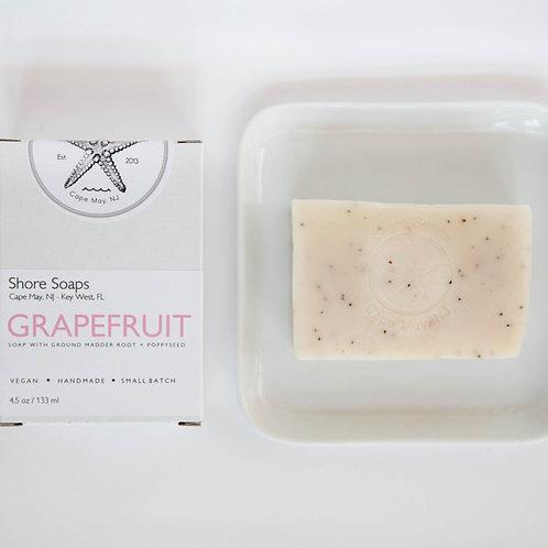 GRAPEFRUIT + POPPYSEED SOAP
