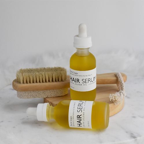 HAIR SERUM // Growth Promoting Rosemary Essential Oil // Jojoba Oil // Condition