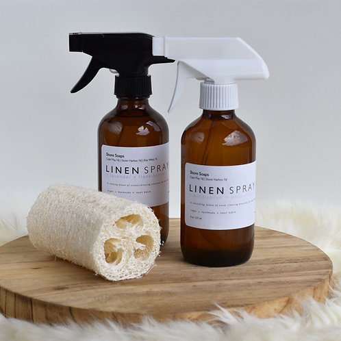 LINEN + PILLOW SPRAY // Made with Essential Oils // For the Home // Housewarming