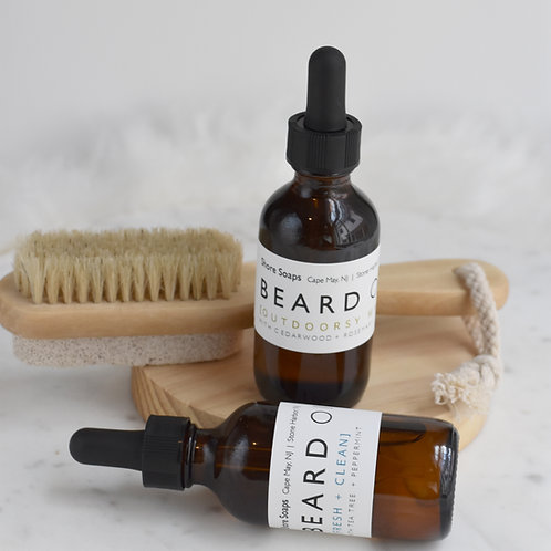 BEARD OIL // Made with Essential Oils // Moisturizing // Leave-In Conditioning /