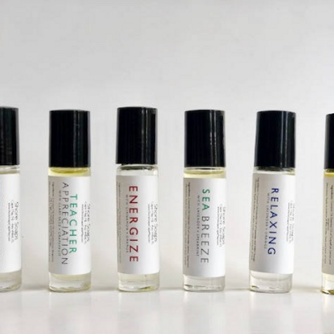 AROMATHERAPY // Roll On Treatments // Essential Oils