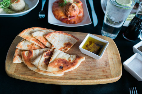 Grilled Pita + XVOO