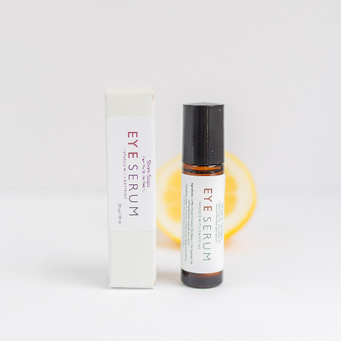 CAFFEINATED EYE SERUM // Roll On Night Treatment
