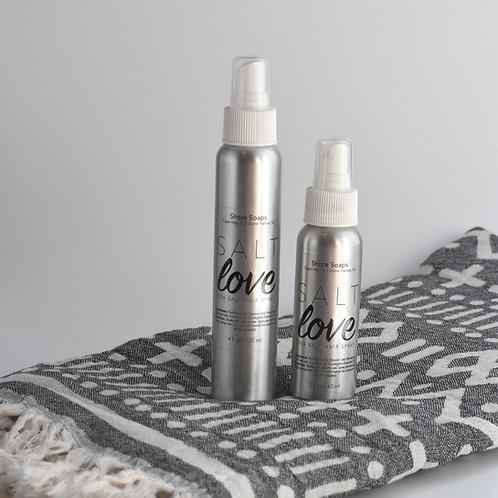 SALT LOVE Sea Salt Hair Spray // Coconut Oil // Himalayan Pink Sea Salt // Nouri