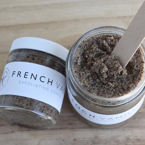 FRENCH VANILLA COFFEE // Sugar Scrub // Essential Oils // Exfoliating // Vitamin