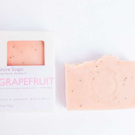 GRAPEFRUIT + POPPYSEED Soap // Vegan // Made with Essential Oils // Exfoliating