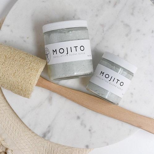 MOJITO // Sugar Scrub // Essential Oils // Exfoliating // Vitamin E Oil // Natur