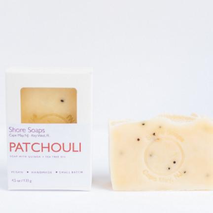 PATCHOULI + QUINOA Soap // Vegan // Made with Essential Oils // Exfoliating // T