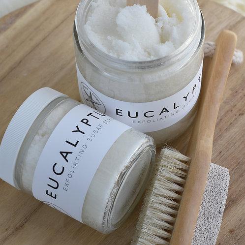 EUCALYPTUS MINT // Sugar Scrub // Essential Oils // Exfoliating // Vitamin E Oil