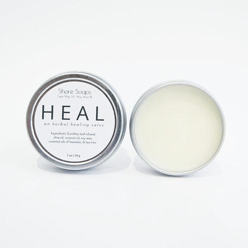 HEAL [ Herbal Healing Salve ] // Antibacterial Anti Fungal Essential Oils // Nat