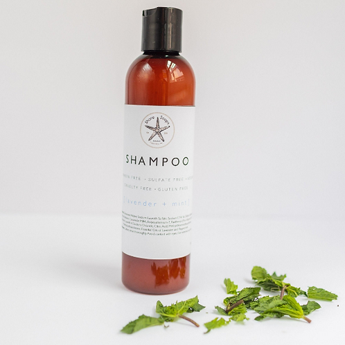 SHAMPOO // Made with Essential Oils // Paraben Free // Sulfate Free // Vegan //