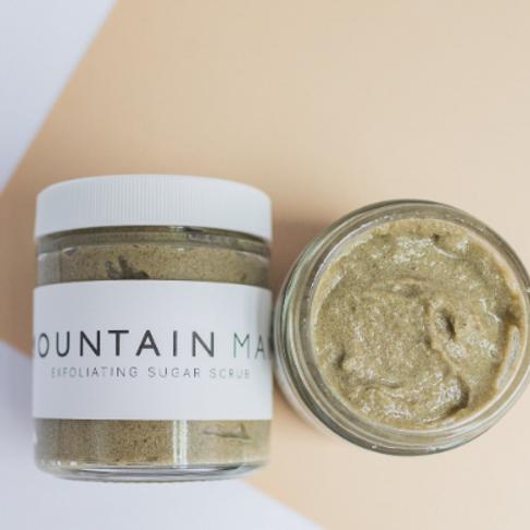 MOUNTAIN MAN // Sugar Scrub // Essential Oils // Exfoliating // Vitamin E Oil //