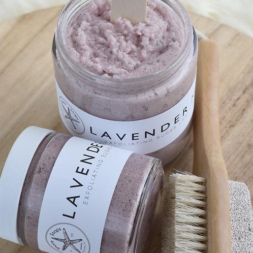 LAVENDER MINT // Salt Scrub // Essential Oils // Exfoliating // Vitamin E Oil //