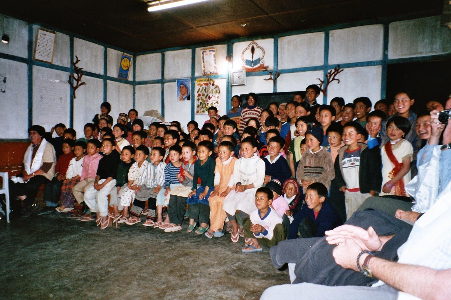 School Hall- first visit 2005