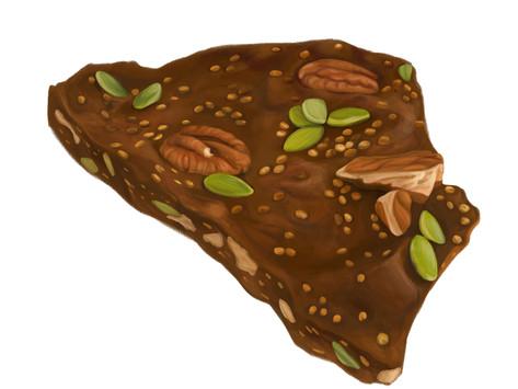 Homemade Quinoa Chocolate Bar