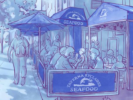 My Favorite Greek Seafood Restaurant in New York: Taverna Kyclades