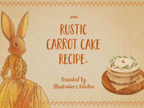 Rustic Carrot Cake Recipe