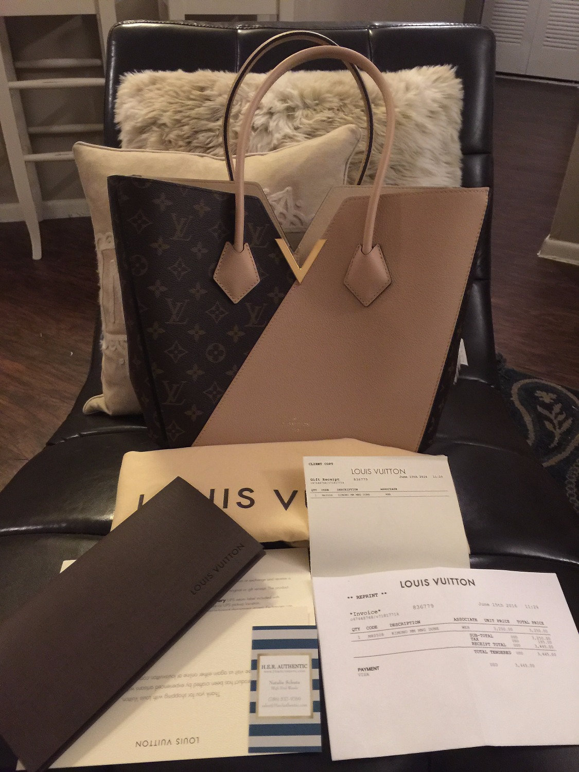 Invoice Management System Her Authentic High End Resale Of  Authentic Louis Vuitton  Rendered Invoice Pdf with A Purchase Invoice Is A Document That Excel This Was Just Purchased  Weeks Ago And Never Carried Comes Complete With  The Receipt Dust Bag And Receipt Holder Hardware Still Has The Plastic  On It Professional Invoices Template Excel