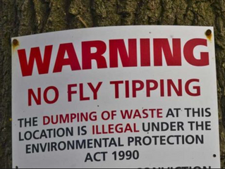 Is YOUR tradesperson licensed with the Environment Agency as a 'waste carrier?'  Plumbers, C