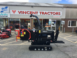 Tracked Chipper Hire
