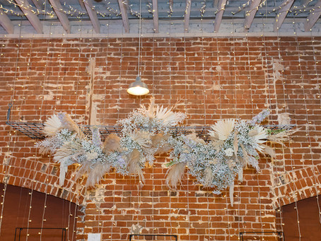4 Ideas for Hanging Floral Installations