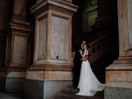 Kelly & Stephen's Imaginative, Fantastical Wedding