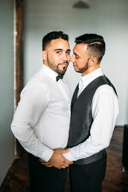 Handsome Newlyweds!
