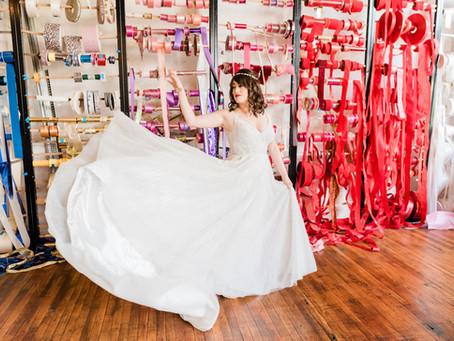 Jillian & Gene's Colorful, Artistic Wedding